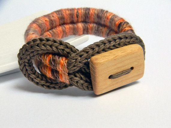 Cotton  bracelet by ylleanna