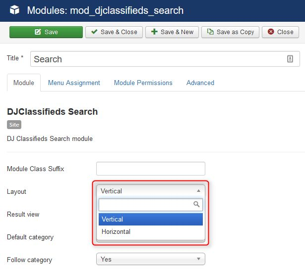 How to configure search module in DJ Classifieds? #search #djclassifieds #ads #Joomla #classifieds #howtojoomla #module