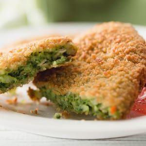 ¡Ricas croquetas de brócoli para el verano!