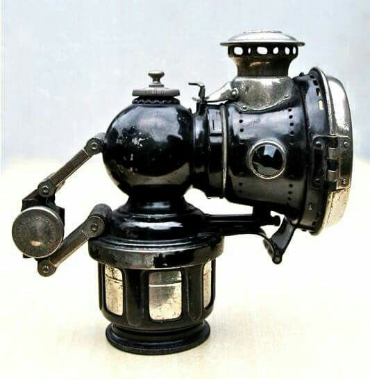 Lucas Carbide Lamp.