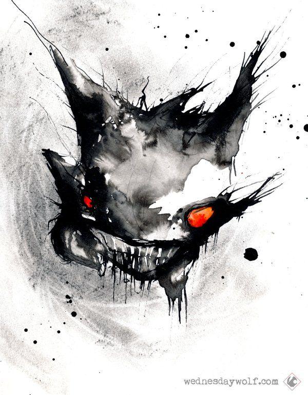 Attack of the Creepy Watercolor Pokémon