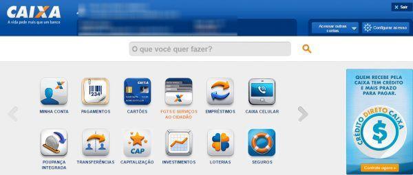 ACESSAR CONTA CAIXA ONLINE – WWW.CAIXA.GOV.BR – INTERNET BANKING CAIXA