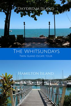 Daydream Island & Hamilton Island in the Whitsundays. Do not miss out on these paradise on Earth islands!