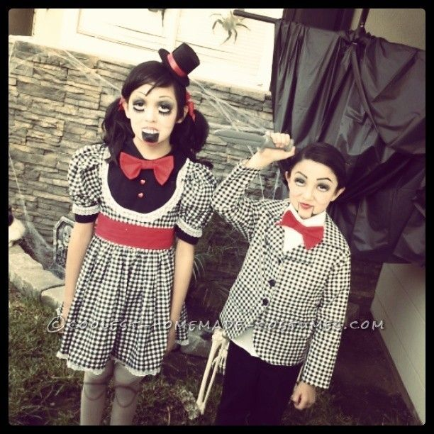 Creepy Ventriloquist Doll Costumes... This website is the Pinterest of costumes