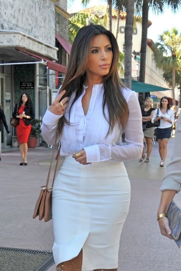 Besides her natural beauty Kim K has great style !!! Def my inspiration !