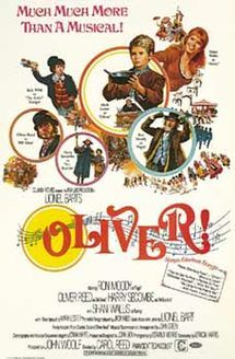 Oliver! is a 1968 British musical drama film directed by Carol Reed and based on the stage musical Oliver!, with book, music and lyrics written by Lionel Bart. The screenplay was written by Vernon Harris.