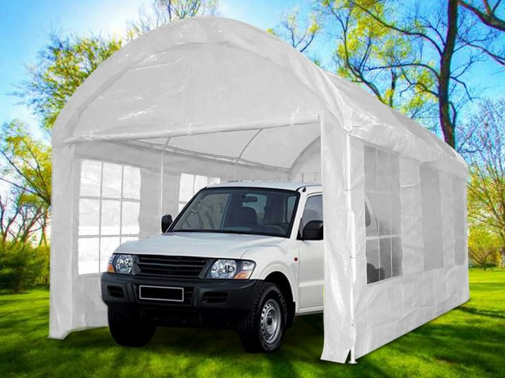 Details about Quictent 20x10 Heavy Duty Arch Carport ...