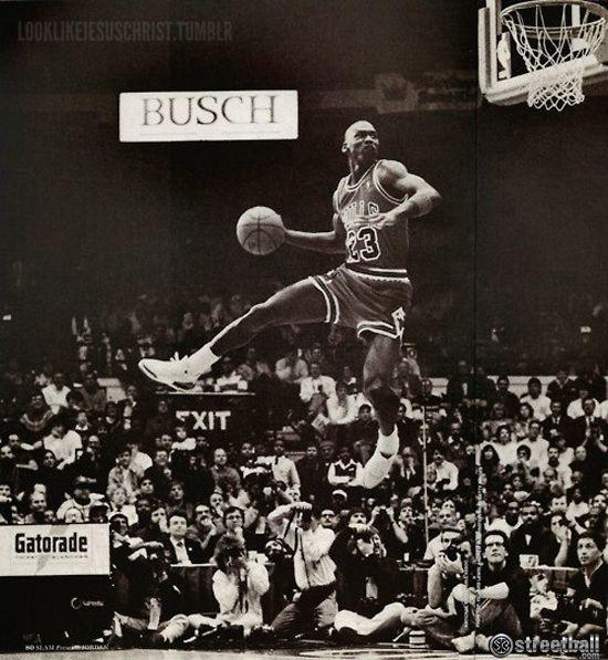 Michael Jordan Gatorade Slam Dunk Contest | DunksnDank