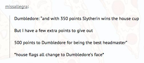 And basically what Dumbledore did in year one. | 22 Tumblr Posts To Remind You That Harry Potter Fans Are Hilarious