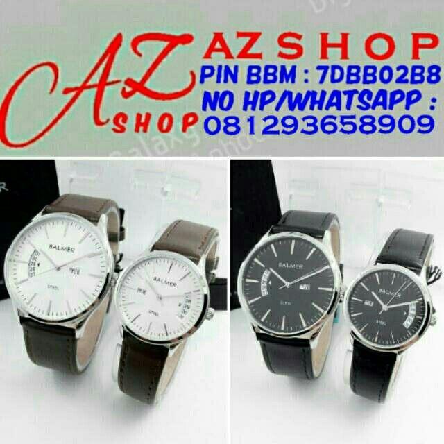 Saya menjual Jam Tangan Couple Balmer B 7944 Silver Leather ( Kulit ) Original Murah seharga Rp450.000. Dapatkan produk ini hanya di Shopee! https://shopee.co.id/azshop30/290652219 #ShopeeID