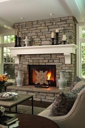 Mantel | Home | Design | Decor | Style | Fireplace