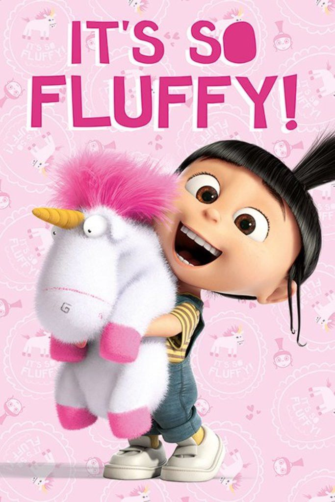 Despicable Me - It's So Fluffy - Official Poster. Official Merchandise. Size: 61cm x 91.5cm. FREE SHIPPING