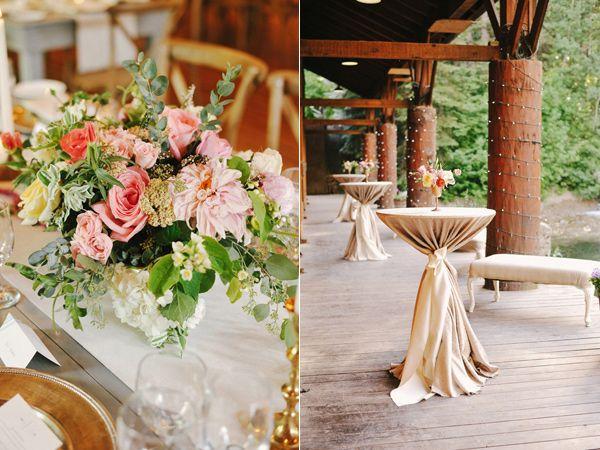 Camping Inspired Wedding at Sundance Resort