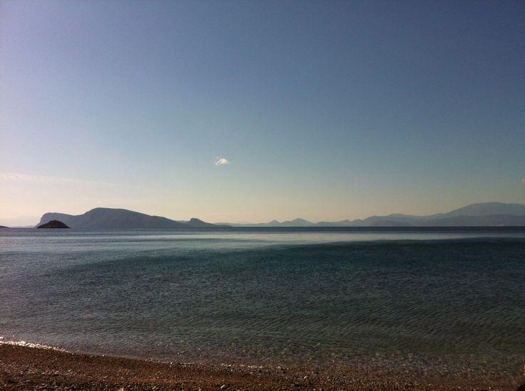 Dokos - one of the Saronic Islands, Greece