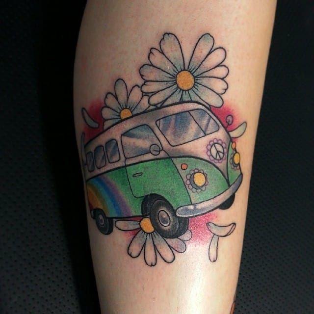 1000 ideas about hippie flower tattoos on pinterest hippie tattoos hippie sun tattoo and. Black Bedroom Furniture Sets. Home Design Ideas