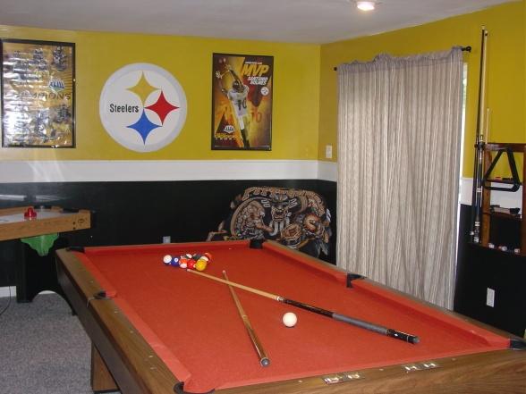 Steelers Bedroom Ideas 76 best man cave / steelers room images on pinterest | home