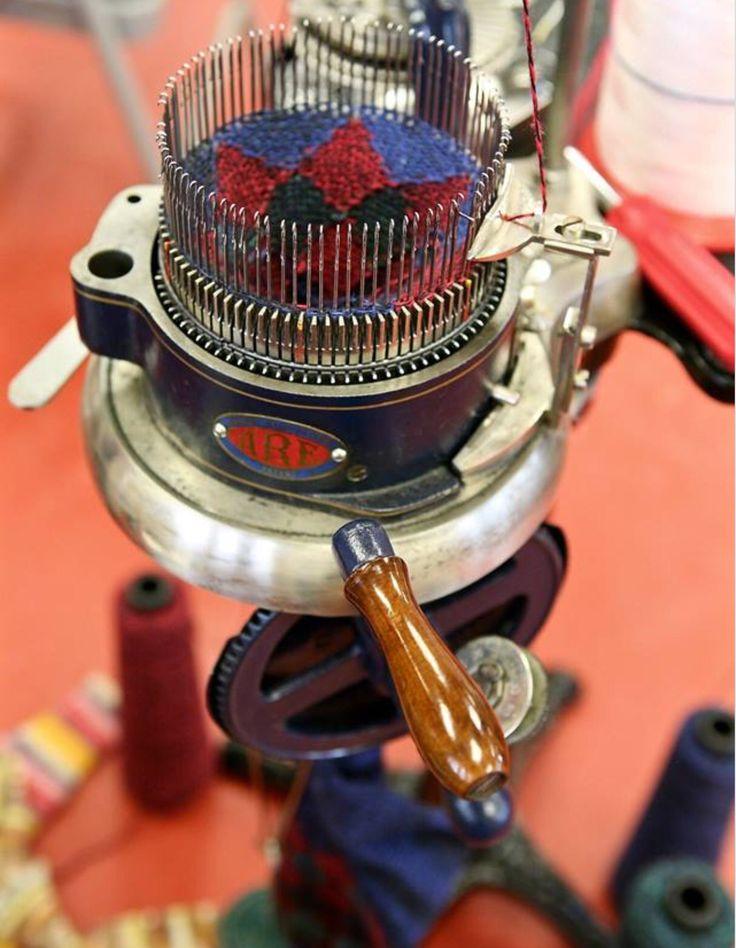 Knitting Loom Machine : Best cskm images on pinterest knit socks sock