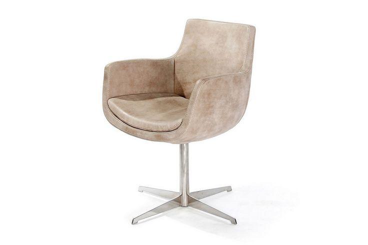 Drehsessel Leder  - Sessel - Sitzgelegenheiten