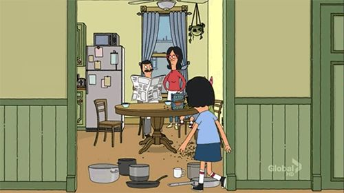 bob's burgers - animated