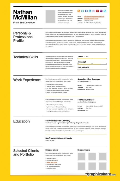 33 best Creative cvs images on Pinterest Resume design, Resume - architectural resume examples