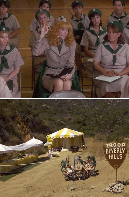 CAN WE PLEASE HAVE A TROOP BEVERLY HILLS GIRLS NIGHT PARTY?