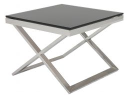 Elle Cross Side Table