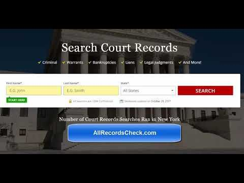 Court & Criminal Records Lookup USA - How to Check State & County Court & Criminal Records