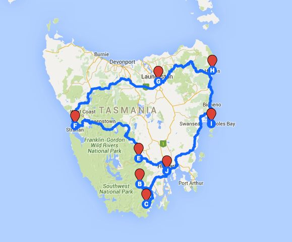 8 day road trip around Tasmania that you must do!