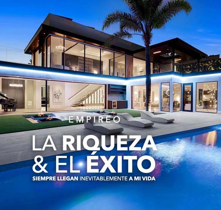 La #RIQUEZA & el #ÉXITO simpre llegan inevitablemente a mi vida.