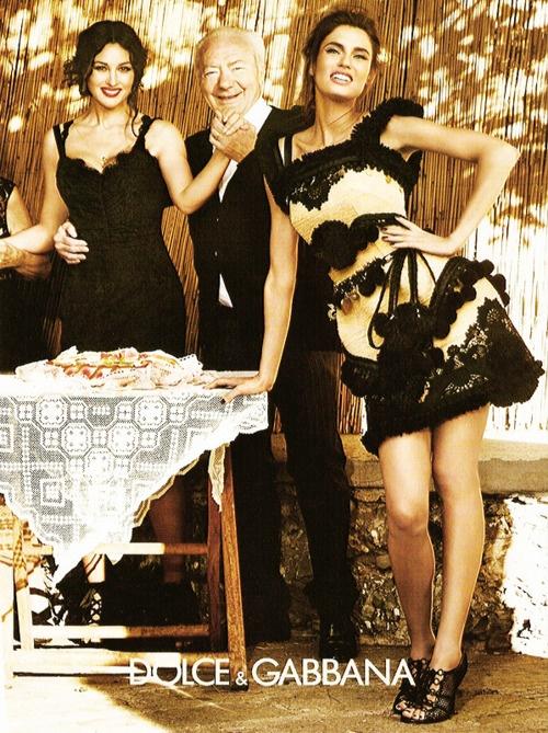jardin-de-moda:    Bianca Balti/Dolce & Gabbana ss12