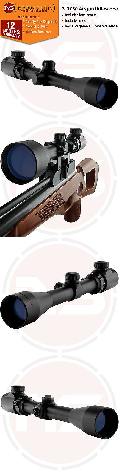 Snap Caps 177882: 3-9X50 Air Gun Rifle Scope +11Mm Dovetail Mounts, Air Rifle Hunting Scope -> BUY IT NOW ONLY: $32.26 on eBay!