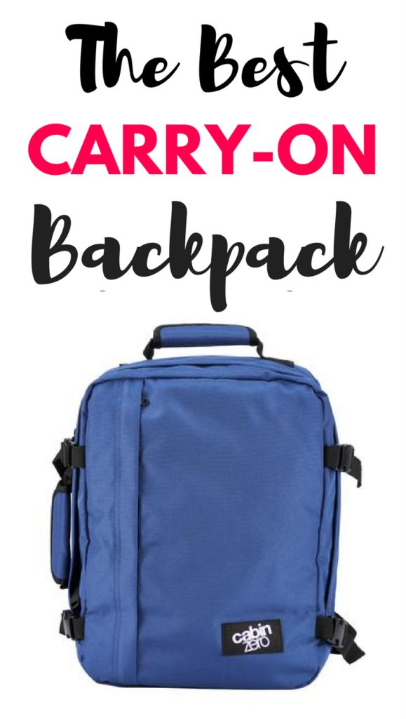 CabinZero Bag Review: Is It The Best Carry On Backpack