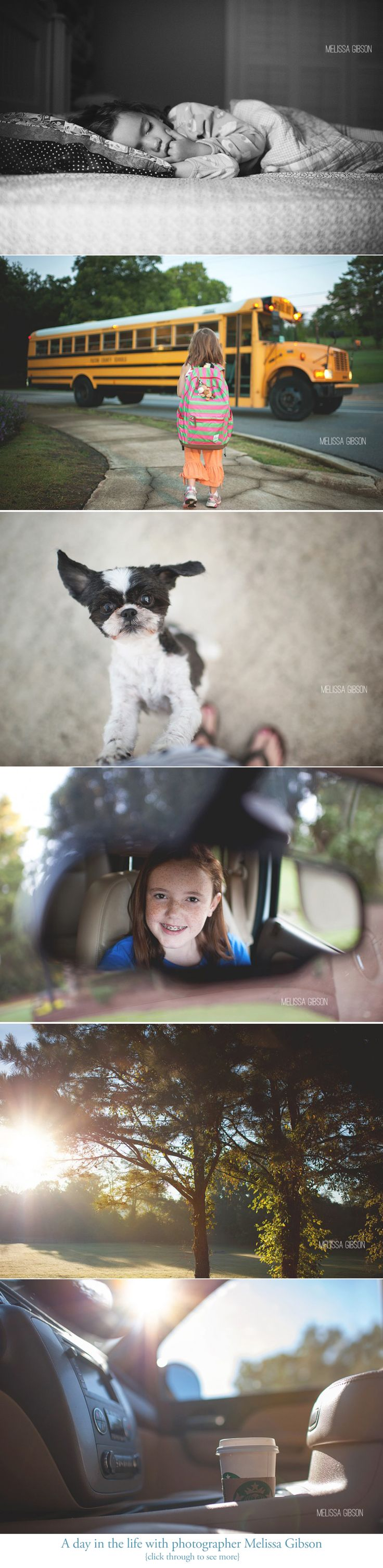 A day in the life with photographer Melissa Gibson