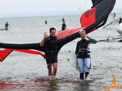 Wakacje z kitesurfingiem