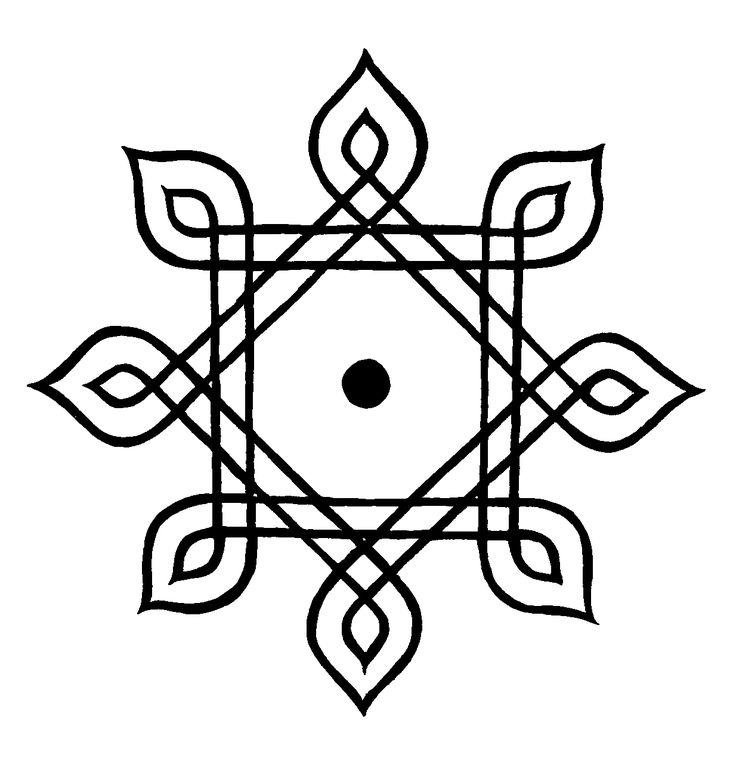 Hindu Symbols - this one is shakti