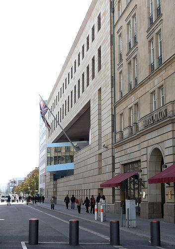 British Embassy, Berlin - Architects; Michael Wilford & Partners, 1994-2000.