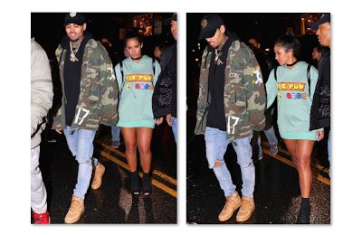 Vanessa Vargas - Chris Brown New Girlfriend Rihanna  Chris Brown and Vanessa Vargas were seen holding hands at the Up & Down night club in Manhattan New York. Brown's ex-girlfriend Rihanna was also at the club on Tuesday night. Rapper Soulja Boy has been reminding the world about Chris and Rihanna's 2009 domestic violence incident.  In a recent interview with Hollywood Unlocked Soulja Boy explains that he was at a party with Chris Brown and Rihanna the night before the 2009 domestic violence…