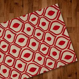 Red Rug Pattern Momeni