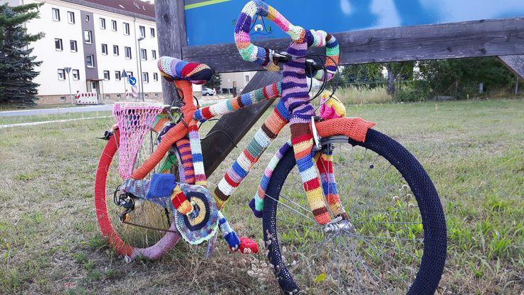 Knitted bike