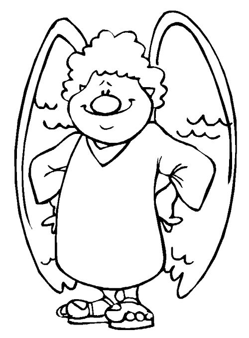 52 best ANGEL COLORING PAGES images on Pinterest | Appliques ...