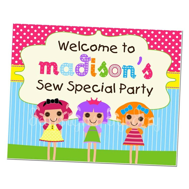 25 best Lalaloopsy images on Pinterest | Lalaloopsy party, Birthday ...