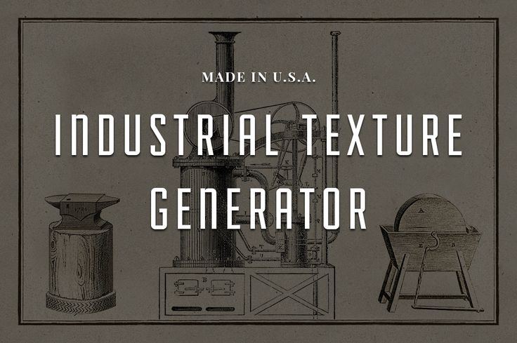 Industrial Texture Generator PSD by Adrian Pelletier on @creativemarket