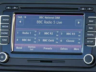Volkswagen Cars Feature DAB Tuner and ESC as Standard