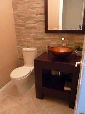 Powder bath remodel contemporary powder room las for Bath remodel las vegas