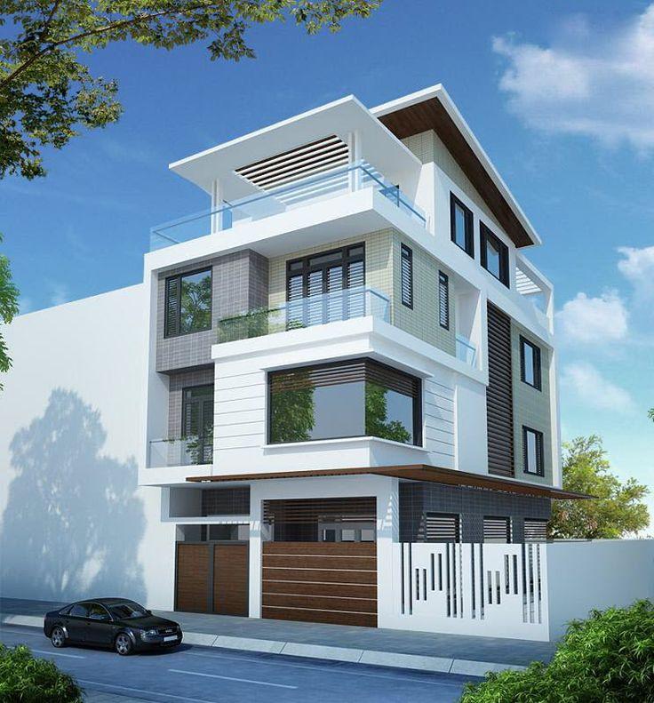 45 mẫu nhà phố hiện đại đẹp - Houseland.com.vn