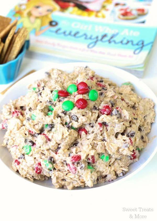 Oatmeal Cookie Dough Dip | Sweet Treats and More