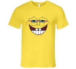 Stoned Spongebob  T Shirt