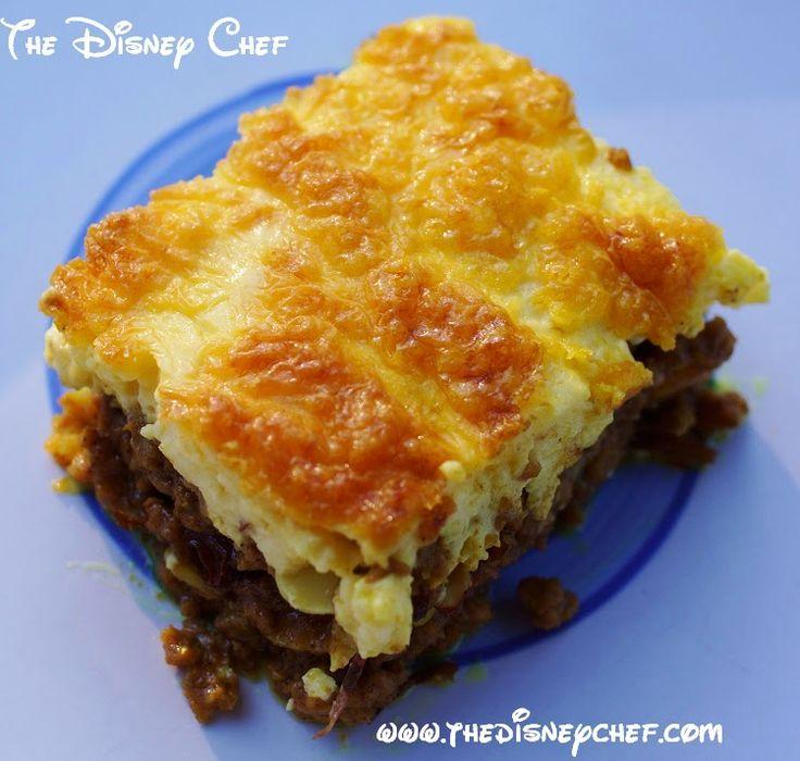 Meat Bobotie ~ The Disney Chef