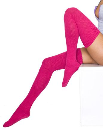 why wouldn't i need a pair of thigh high socks?