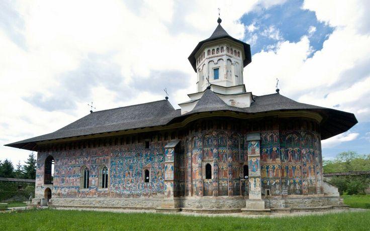 Manastirea Moldovita Romania